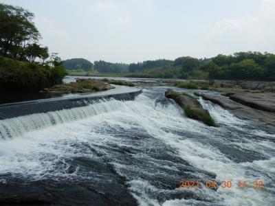 禁断の越県の旅(5) 「東洋のナイアガラ」とも呼ばれる曽木の滝へ行ってみた・・・