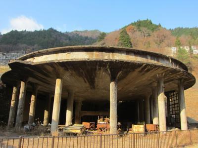 GO TO  トラベルで行く 関西遺構・廃墟めぐり 3日目 神子畑選鉱場跡・明延鉱山