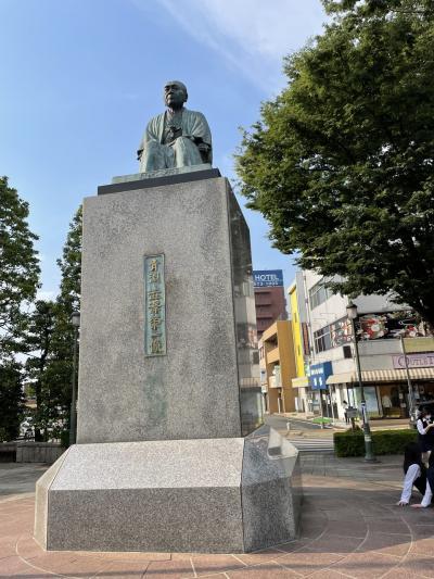 渋沢栄一の町、旅籠を満喫