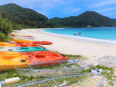 2021. 阿波連ビーチ シュノーケリング「島時間を楽しむ… ぼっち旅!」