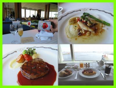 また横浜へ(6)ル・ノルマンディで春のお祝いランチコース&ザ・カフェでパスタ&ルームサービス朝食@ホテルニューグランド
