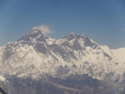 2019年やっと神々の山々・ヒマラヤへその5ーエベレスト遊覧飛行。