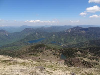 月例登山報告/尾瀬中原山&日光白根山・その3.関東以北の最高峰から大パノラマを堪能。