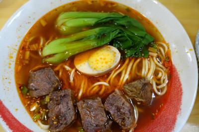 20210612 京都 三条の百歳牛肉麺で、今度は台湾風をお願いしてみる