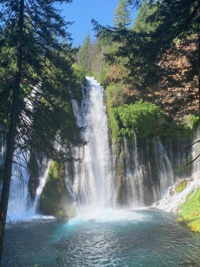 2021 夏2 シャスタ山 周辺の滝巡りドライブ