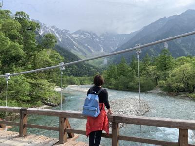 2021年6月 上高地の絶景とビールと♪気分最高~な女子旅♪vol.2~「五千尺ホテル上高地」でキュイジーヌディナー~朝活で河童橋~大正池~