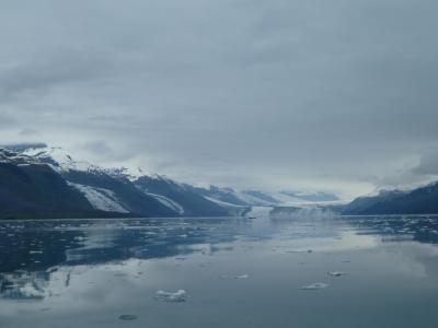 雄大な大自然を堪能するアラスカの旅-2(氷河クルーズ)