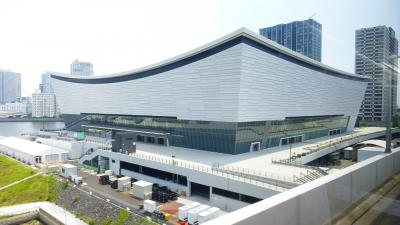 東京の超高層ホテル2カ所に泊る2泊3日 誕生日記念旅行【リムジンバスで、豊洲~羽田空港ターミナル1に移動編】