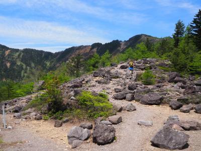 2021年6月 浅間山周辺を歩く①「水の塔山~東篭ノ登山縦走」のはずが・・・