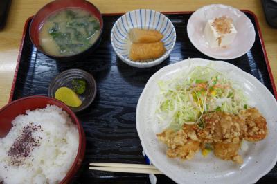 20210617-2 長岡京 味処なかじまの日替定食は、なかなかに食べ応えのある…