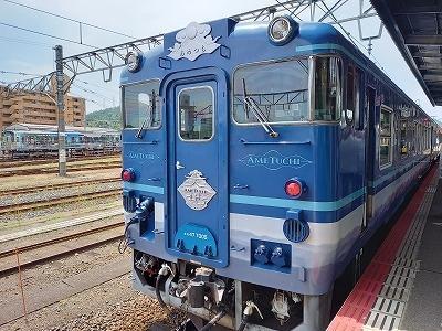 2. 山陰本線と一畑(いちばた)で行く!  観光列車も楽しい 鳥取・島根の旅 《あめつち・鯛めし編》