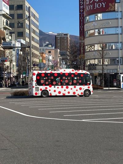 2021冬の松本1泊2日、ひとり旅