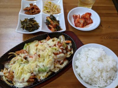 生野コリアタウンで韓国料理ランチ~カナリヤでパフェ~延羽の湯で入浴