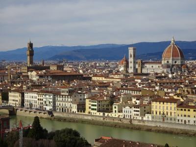 フィレンツェ(Firenze) 4日目(メディチ家礼拝堂、サンタ・マリア・ノヴェッラ教会、バルジェロ美術館、サンタ・クローチェ聖堂)