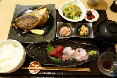 20210619-1 京都 錦市場近く、小松食堂のサービスランチ