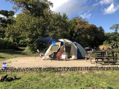 2020キャンプ⑤神鍋高原でキャンプ&芝滑り