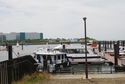 大阪の海へ、市内北港ヨットハーバー・土日はフリーパスがお得GO GO最終日編