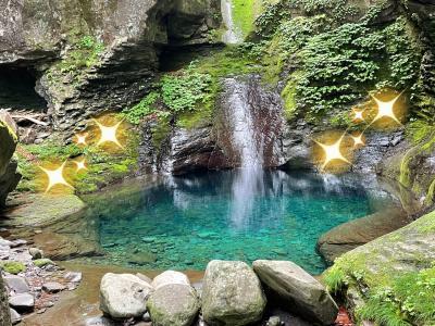 滝に恋する5秒前(〃ω〃) 幻想的な「青の世界」 in 栃木