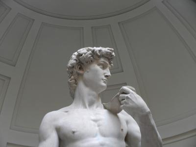 2020年9月 イタリア旅行14 ダビデさんと記念写真♪ フィレンツェ Firenze