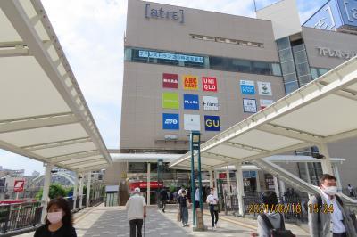 川越駅西口及び東口付近の風景 その②