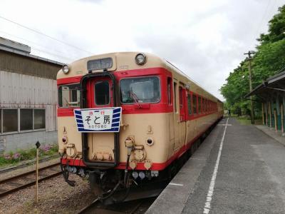 楽しい乗り物に乗ろう! 小湊鉄道&いすみ鉄道「房総里山トロッコ&レ…