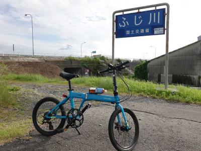 自転車でGO!早朝バージョン =静岡市へポタリング= 2021.06.05