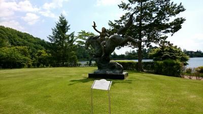 蓼科高原 彫刻の森