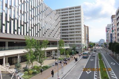 川越駅西口付近の風景‥U-Place東武ホテル等