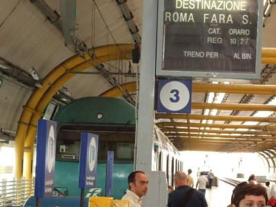 フィウミチーノ空港からローマ市内までの交通手段