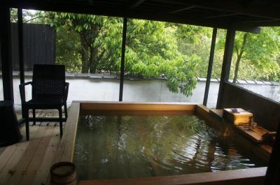2021年4月 伊豆長岡温泉「石のや」3度目は檜の露天付き客室 今回もお料理と日本酒でごきげん