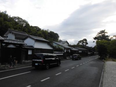松江城周辺を朝散歩しました。