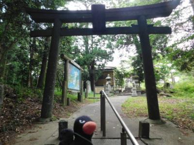 多聞山から鼻節神社へ