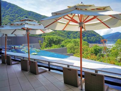 箱根 芦ノ湖 はなおりに泊まりたくて。