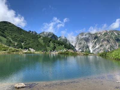 白馬_Hakuba 『八方池』から白馬連山を望む!山岳観光・スキー&スノボの拠点の村