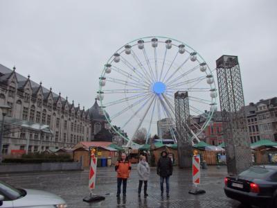 2019年ベルギーのX'sマーケット巡り【17】リエージュへ移動後サン・ランベール広場へ