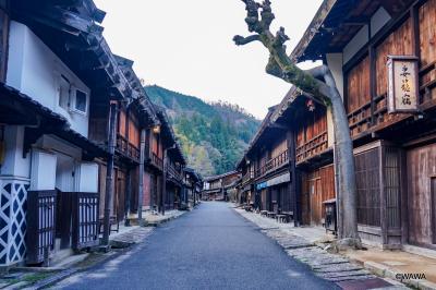 ロングドライブ 与謝野町加悦(京都府)から松本城まで下道で木曽街道
