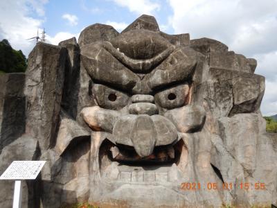 禁断の越県の旅(8) 青島神社を出て、いくつか道の駅に立ち寄りながら高千穂を経由して阿蘇のホテルへ・・・