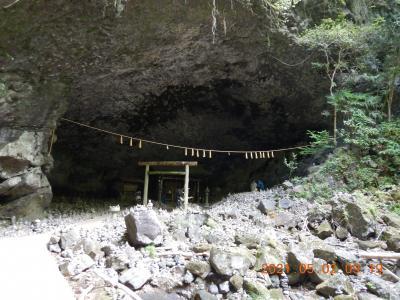 禁断の越県の旅(9) 高千穂方面へ向かい、天岩戸神社と天安河原へ・・・