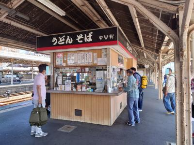 JRに乗って、鳥栖駅にうどんを食べに行こう!