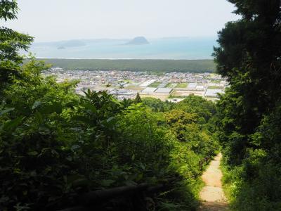 JALどこかにマイルで福岡へ2*・゜・*鏡山展望台から虹の松原を眺めよう*・゜・*