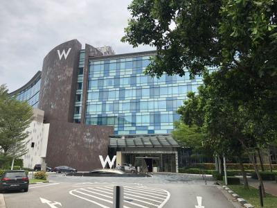 シンガポールでのステイケーション(W Hotel)