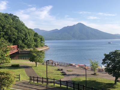 2021夏の北海道 飛行機に乗りたくて&支笏湖の絶景に癒される