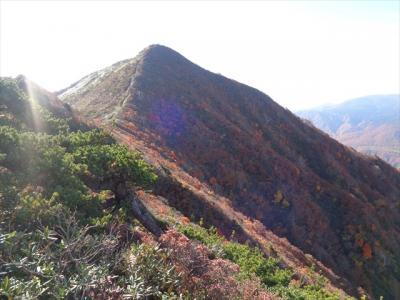 雁戸山の紅葉