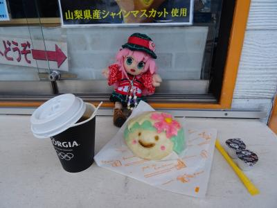 故郷の御山が恋しくて…! 富士・河口湖の春の景色を見に行くヨ! 3日目(最終日) #53