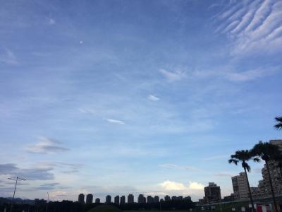 台北の河濱公園へ