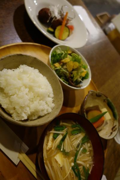 20210627-1 奈良 東向北商店街の、ごはんの間のお昼。野菜たっぷりですね。