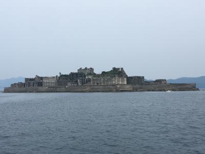 202106 ゆるりと修行#8 軍艦島と長崎シティ