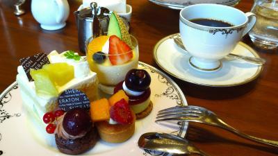 横浜ベイシェラトン ホテル&タワーズ「シーウインド」で、涼しげな初夏にぴったりの「メロン&チェリーのアフタヌーンティーセット」