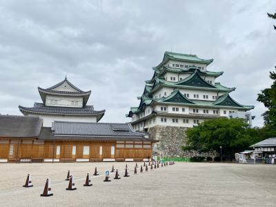 金鯱のない名古屋城を見たあとは「ひつまぶし」