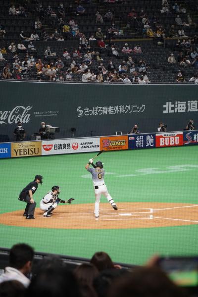 2021北海道 1日目『プロ野球交流戦 日本ハム VS 阪神 戦の観戦を楽しんだ♪』 IN 札幌ドーム